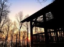 Sunrise at The Grand Barn