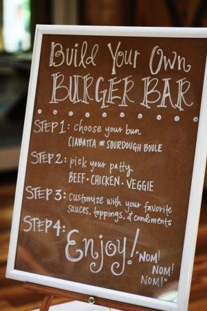 Copy of burger bar sign