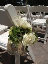 roses and burlap