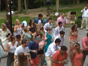 line dancing perfect for the patio