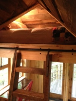 climb inside the new tree house loft and dream the night away