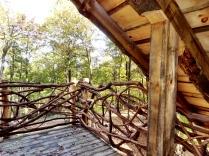 Railing upper deck